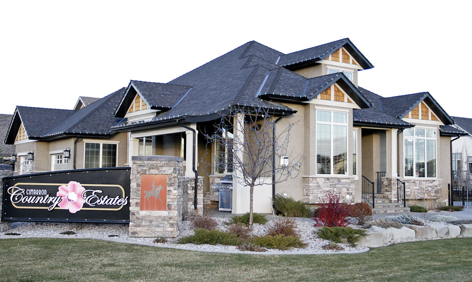 Country estate homes big family homes for sale okotoks for Country estate home plans